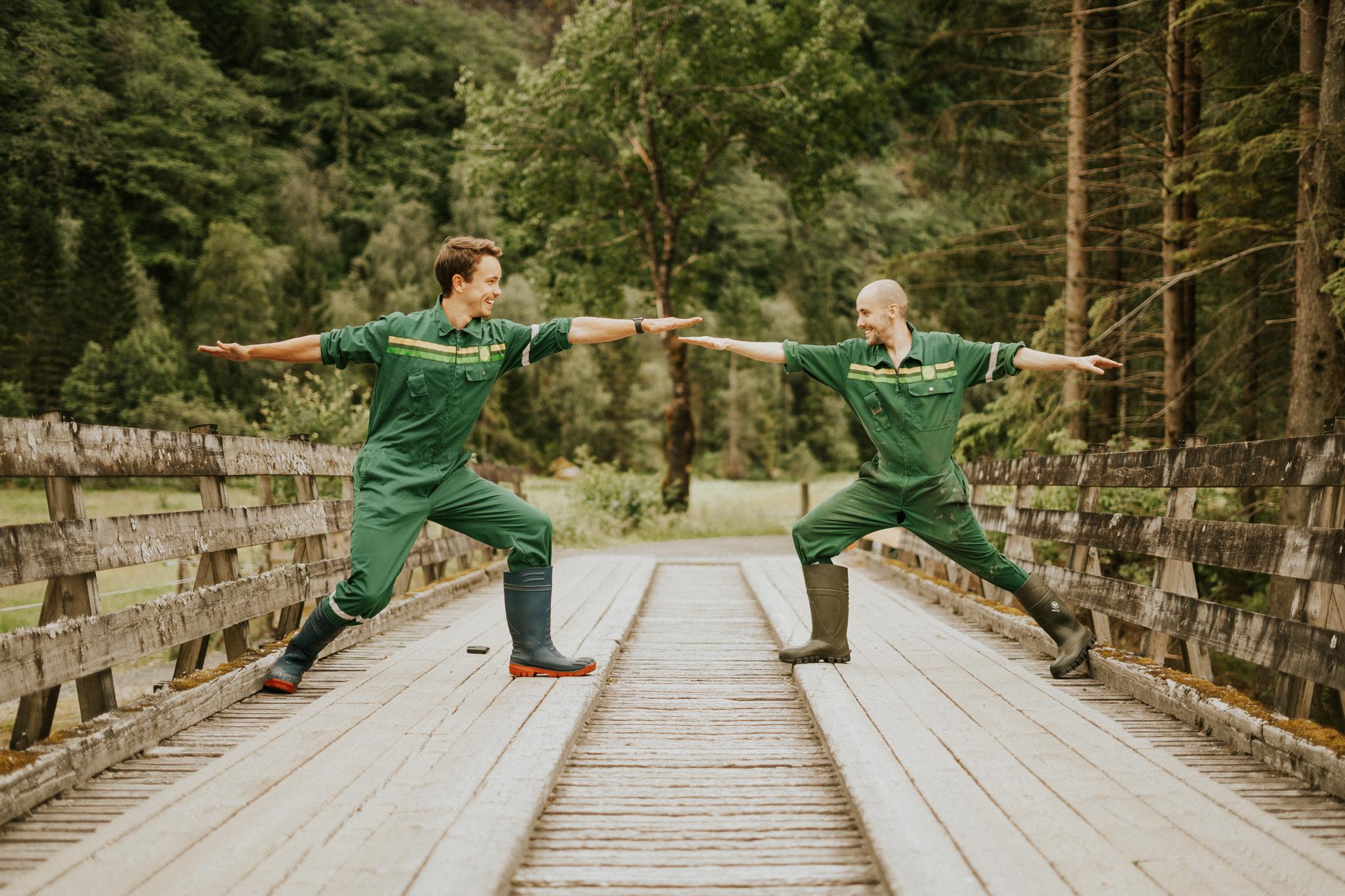 yoga med guttaboys